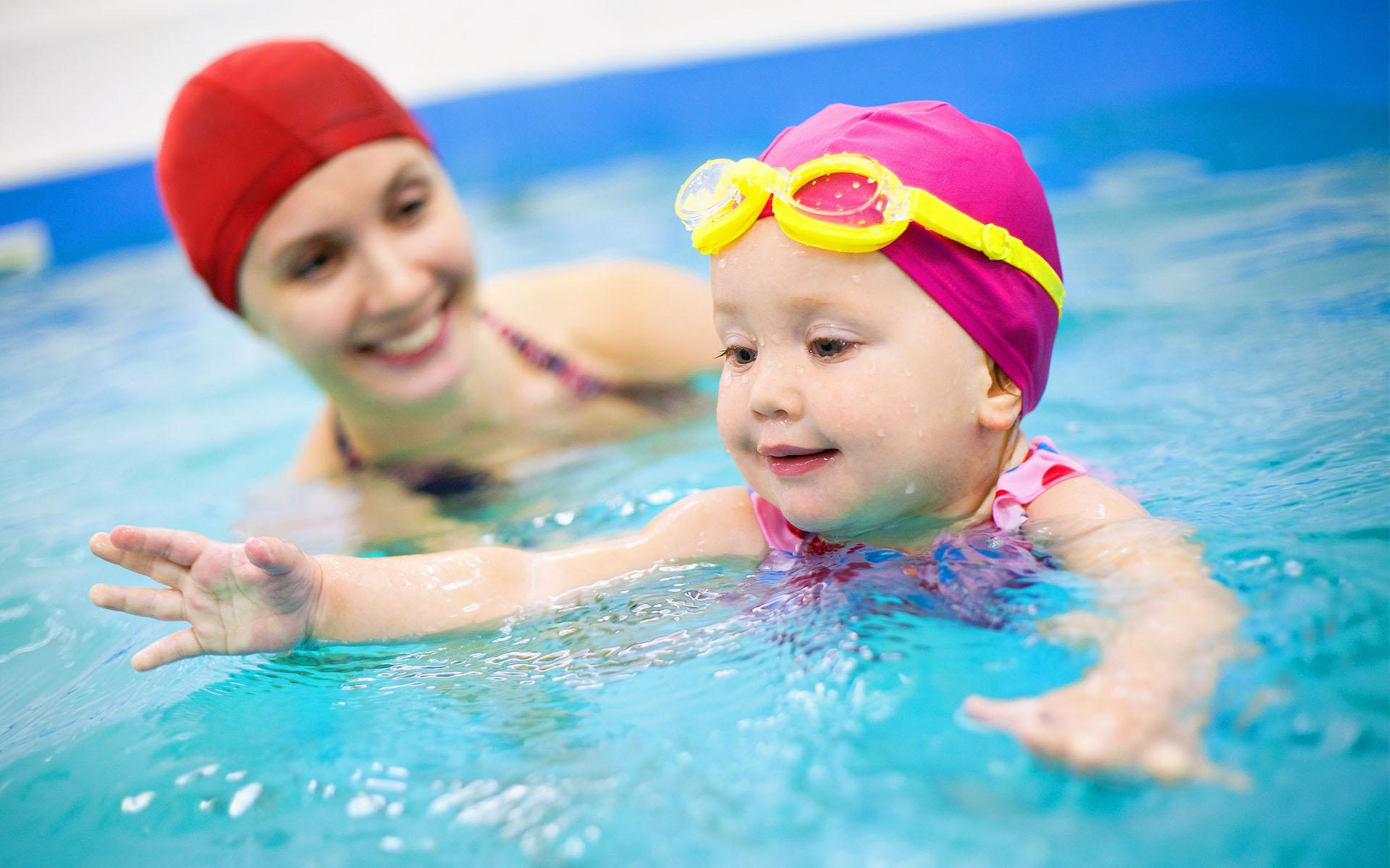 Мастер класс по плаванию с детьми